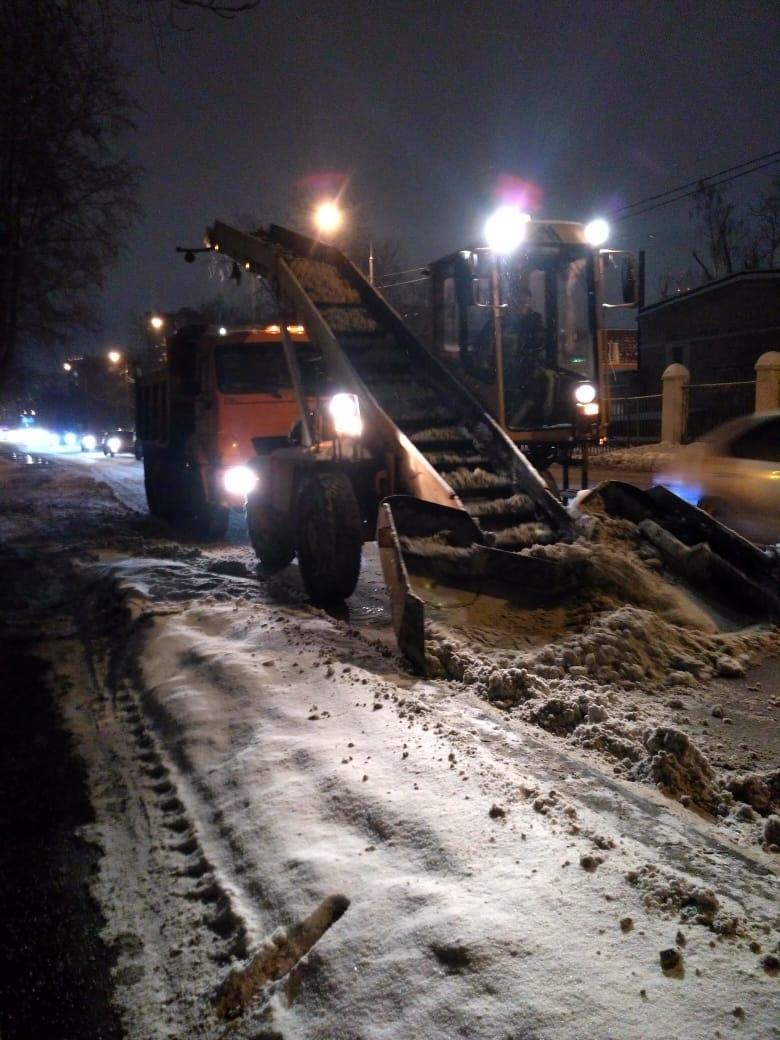 Коммунальные службы Алтуфьева справились с последствиями мощного снегопада