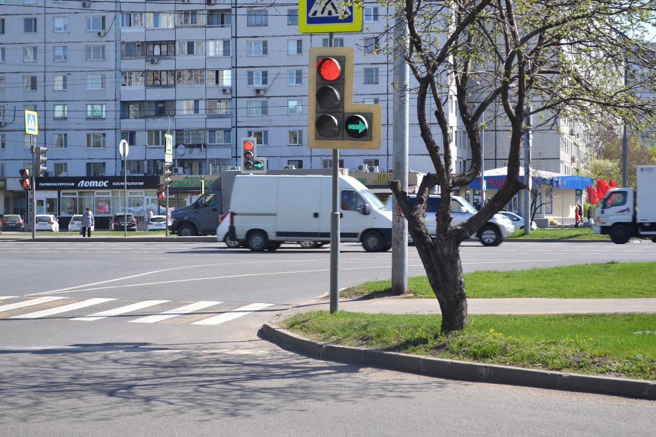 В Алтуфьевском районе отрегулировали светофоры
