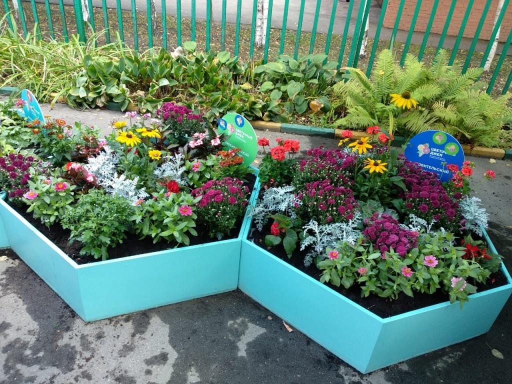 Жители Алтуфьева посоревновались на конкурсе цветников