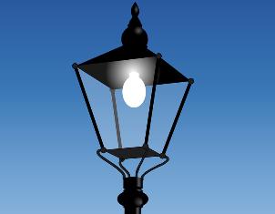 Над входной группой дома по Инженерной починили фонарь